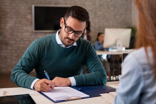 Gesprek Met Personeel zorgt voor professionele ondersteuning bij het voeren van een functioneringsgesprek