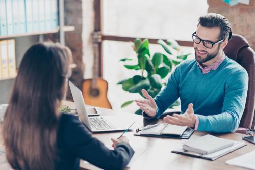 Gesprek Met Personeel kan bij een functioneringsgesprek het verslag direct uitwerken en ondertekenen